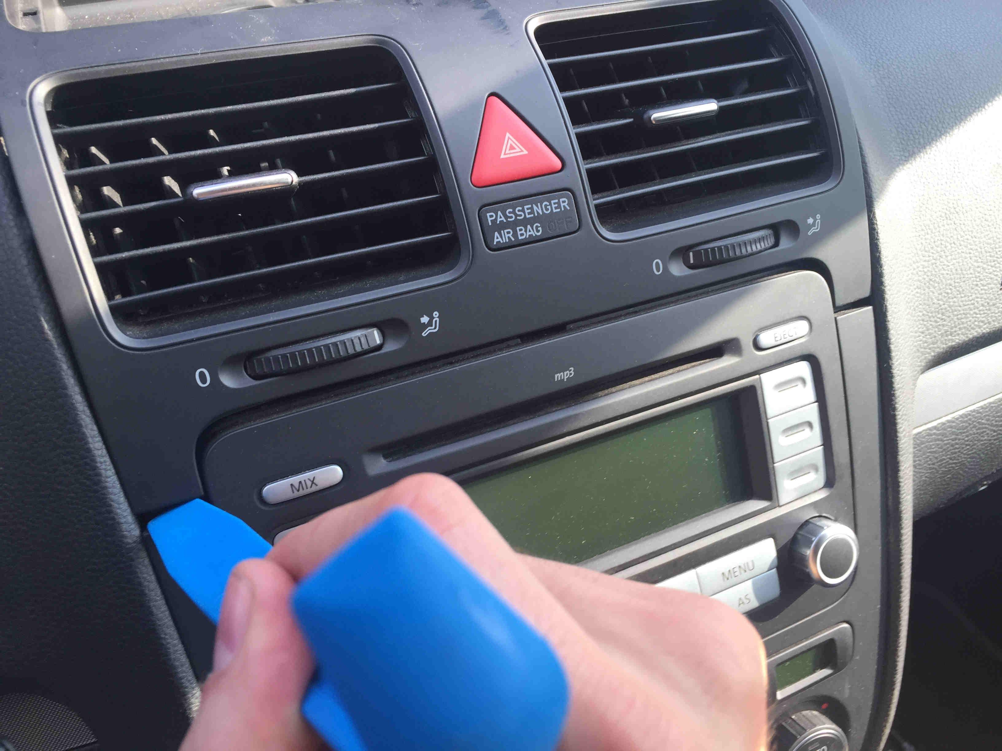 Fabulous Mercedes Radio Ausbauen Ohne Haken Fm39